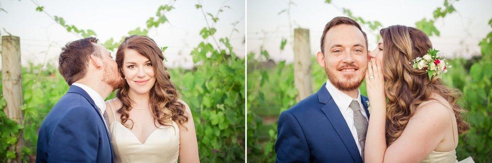 Fun Winery Wedding Portraits