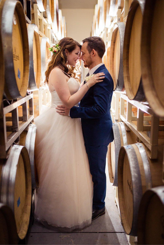 Winery Barrel Wedding