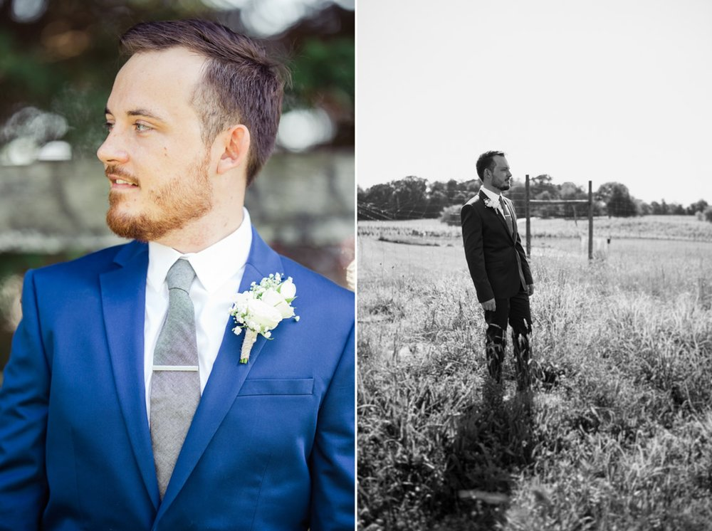 Amazing Groom Portraits at Winery