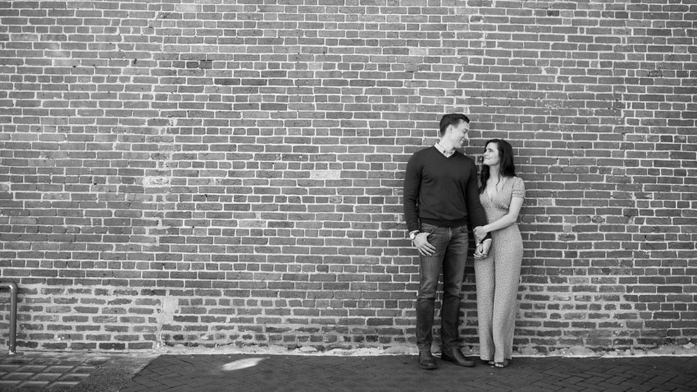 Brick Wall Engagement Baltimore