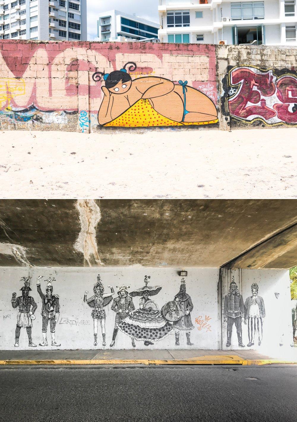 San Juan Street Art Graffiti