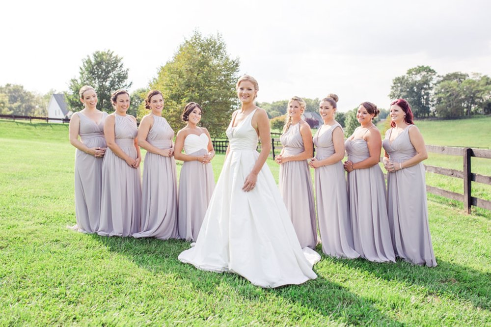Bridesmaids Country Wedding