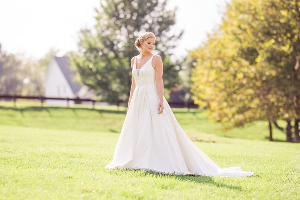 Beautiful Country Bride Portrait