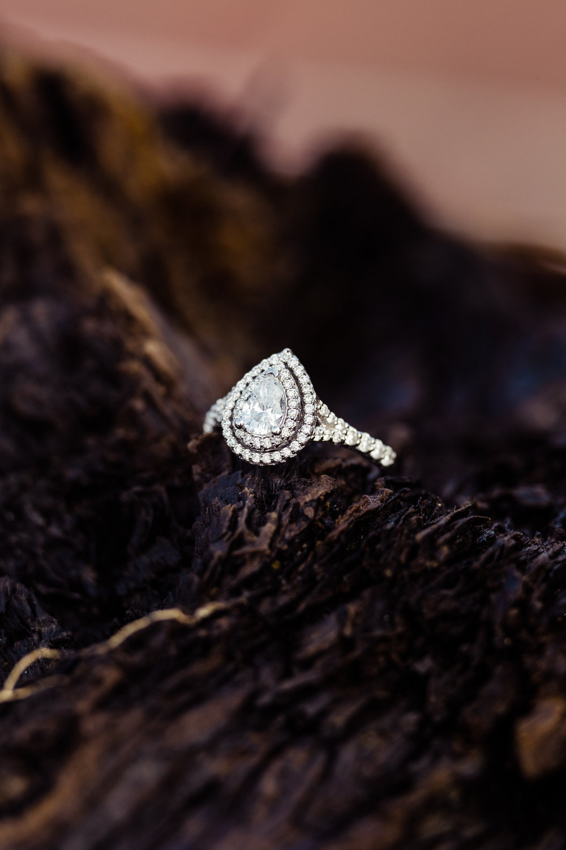 Driftwood Engagement Ring Baltimore