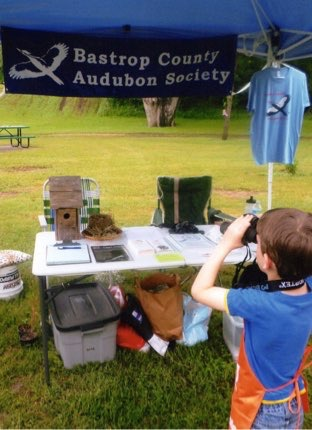 Binocular training, City of Bastrop NatureFest