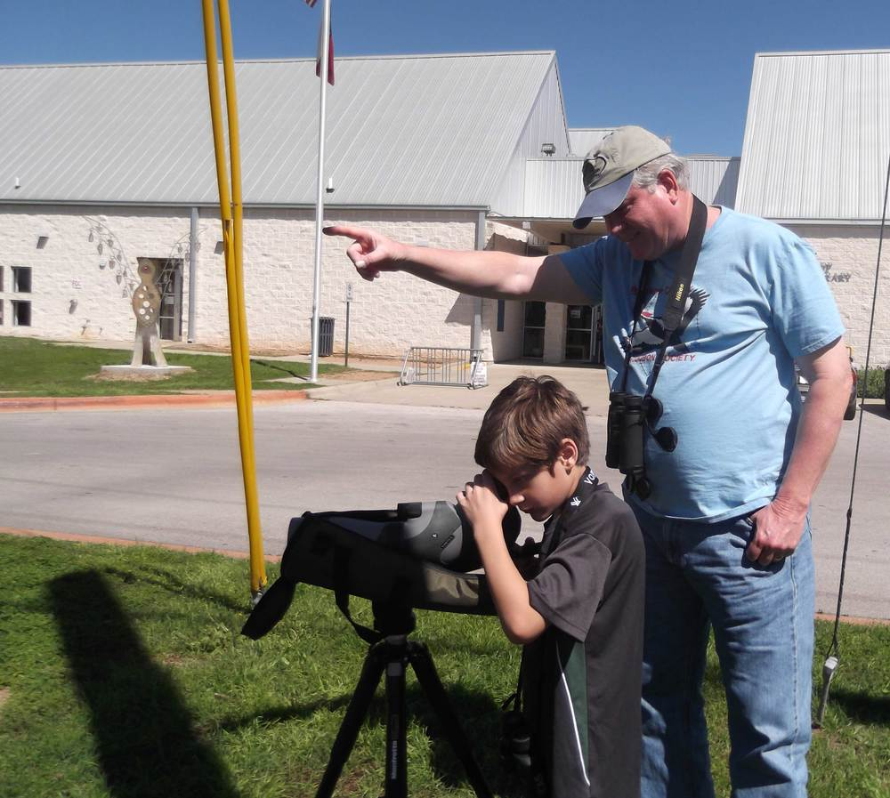 BCAS Binocular/Scope Training at Bastrop Libary