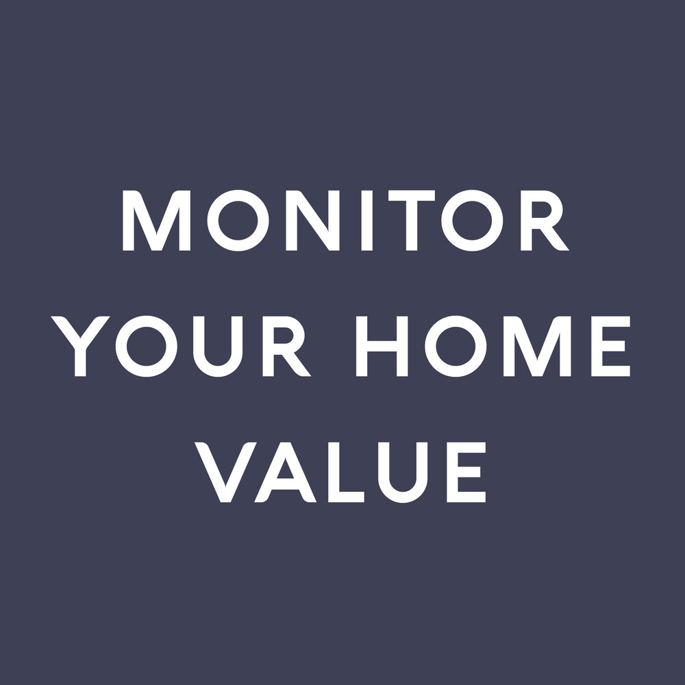 Ask about how you can monitor your home value, equity, and more every month through our personalized home valuation platform.