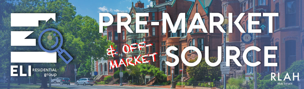 Every week the   Eli Residential Group   scours our network for  off-market and pre-market homes  to give home buyers and investors access to properties they  can't find anywhere else online . If you are interested in a property you see here, have specific needs you cannot find on the market, or would like  your off-market or pre-market property  featured   for a half million local readers on   PoPville  , or   ARLnow   please click below to contact us.