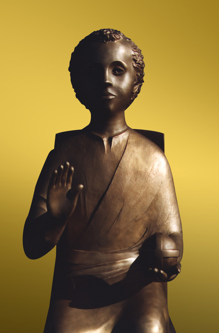 Christ child detail