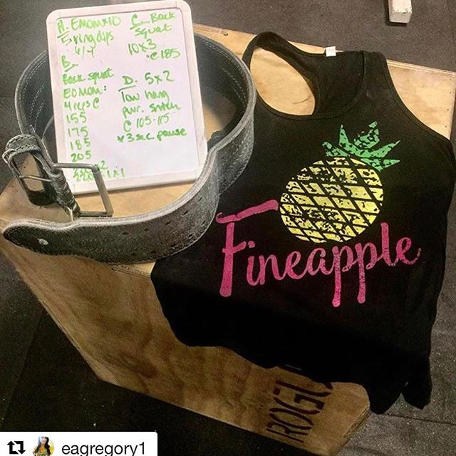 "@eagregory1 showing off her #FineApple tank and workout!  #Repost @eagregory1 with @repostapp ・・・ Lifting heavy things, powered by @36apparel 💪🏼💪🏼💪🏼 Love love love my ""Fineapple"" tank! 💚💚💚 ・・・・・・・・・・・・・・・・・・ @36apparel #36apparel @dermalicious #dermalicious  @redhnutrition #redhnutrition @liftlikelawyerspodcast #liftlikelawyers ・・・・・・・・・・・・・・・・・・ **Use our coupon code from our podcast sponsors ""LIFTLIKELAWYERS"" at checkout for 20% off your purchase at 36apparel.com & dermalicious.net, & 15% off your purchase at redhnutrition.com.  #crossfit #crossfitlife #crossfitguys #crossfitgirl #crossfitclothes"