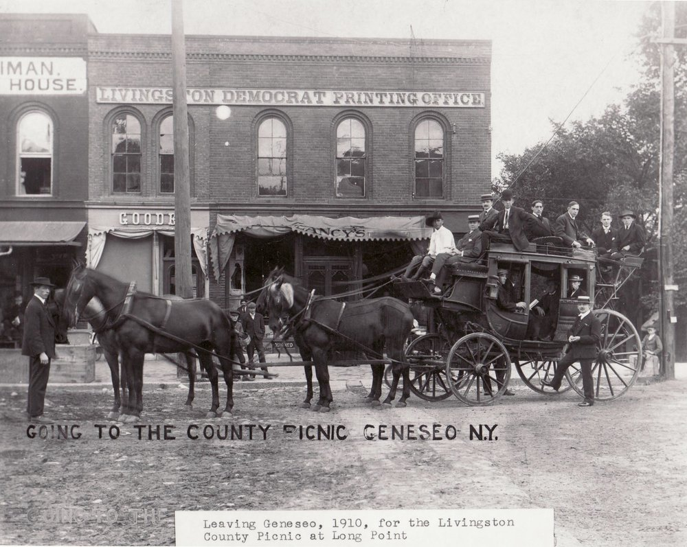 c. 1910, Courtesy of Livingston County Historian