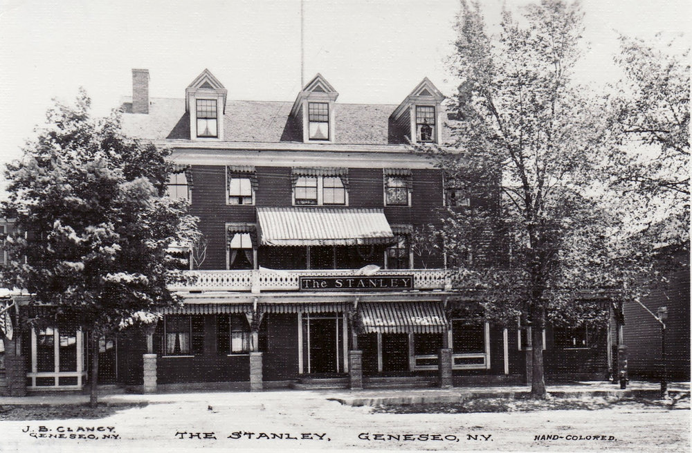 The Stanley Hotel c. 1915 Courtesy of Livingston County Historian