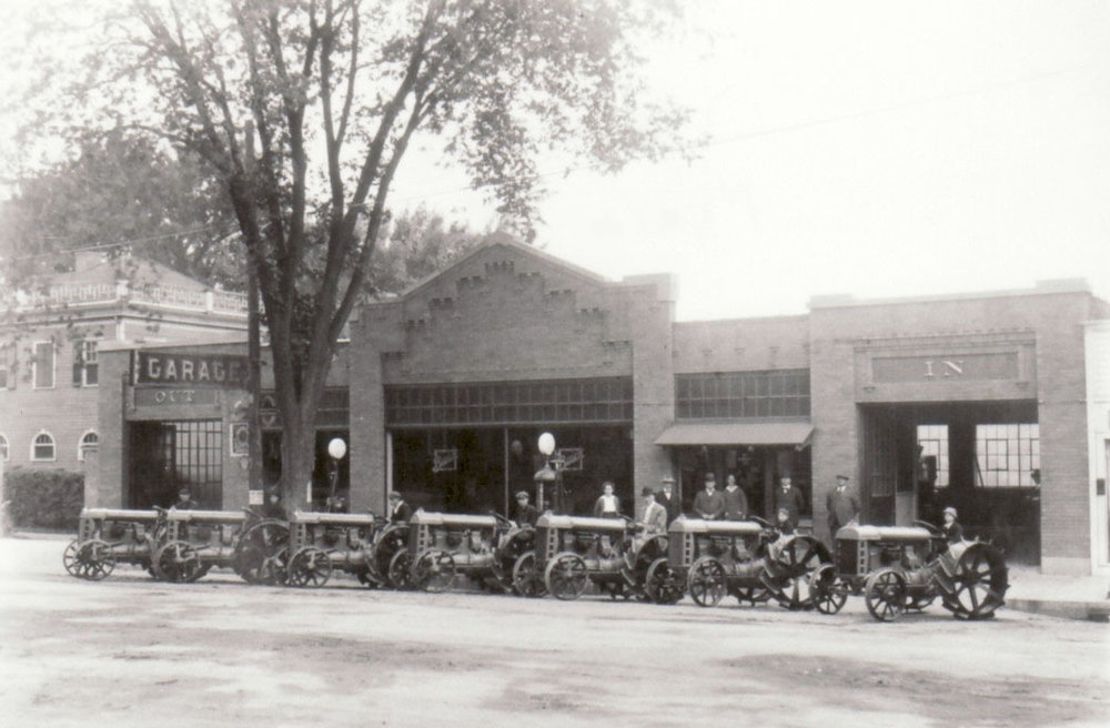 c. 1920 Courtesy of Livingston County Historian