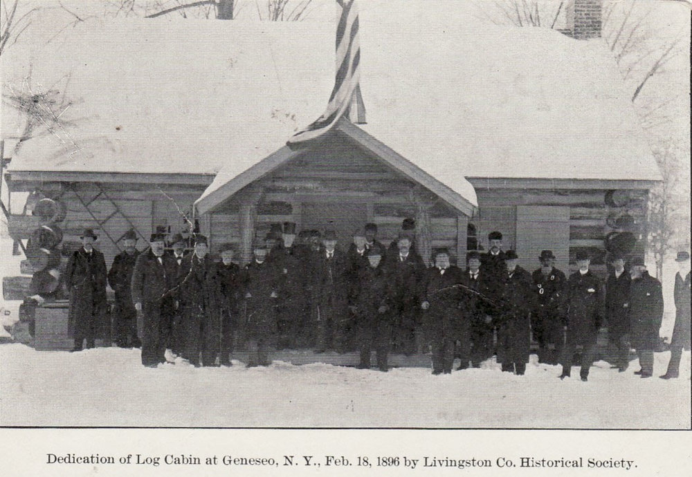 c. 1896 Courtesy of Livingston County Historian
