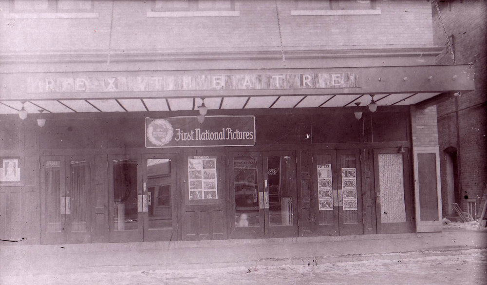 Center Street Theater (formerly known as the Rex Theatre), c. 1920 Photo Courtesy of Milne Library