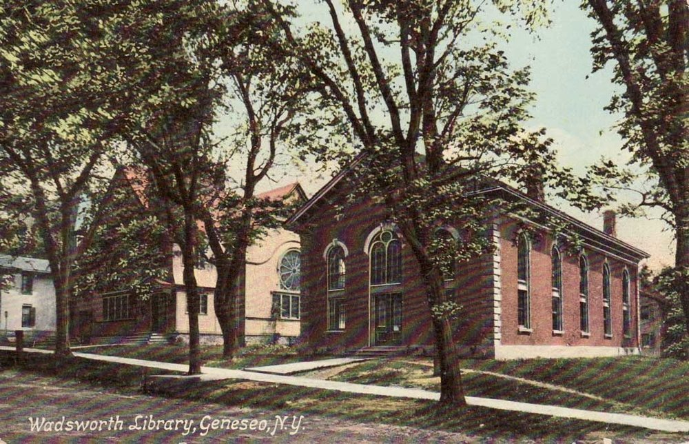 c. 1913 Courtesy of Livingston County Historian