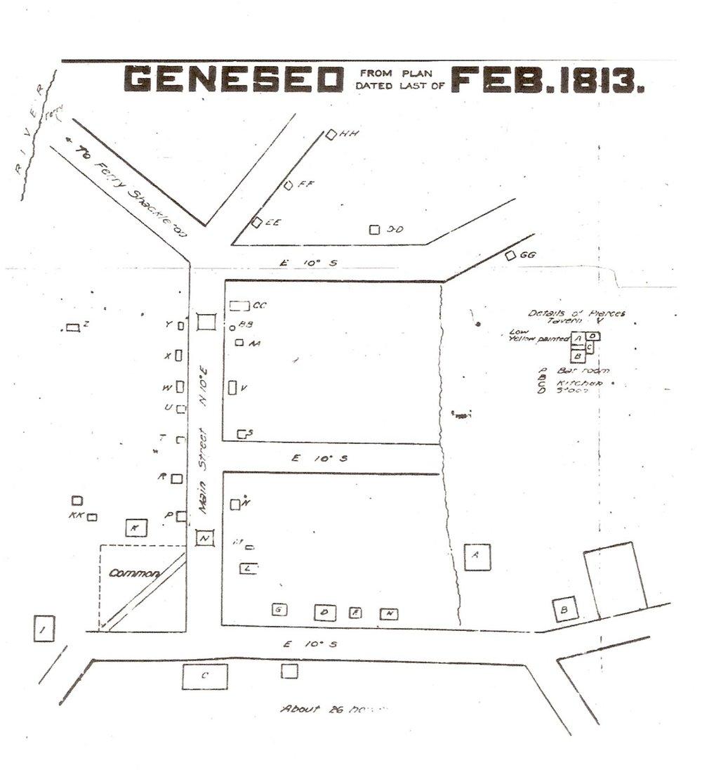 Geneseo in 1813