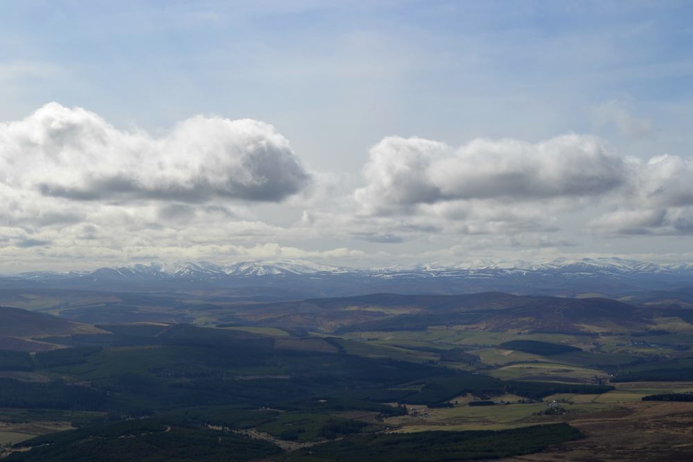 Ben Rinnes Moray mountains