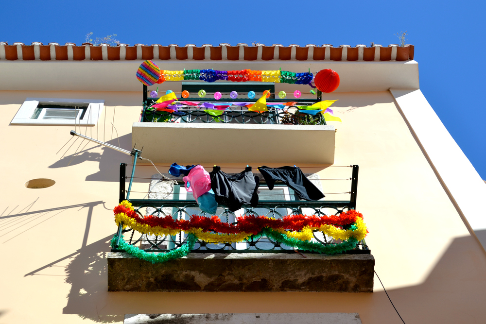 Lisbon festival bunting