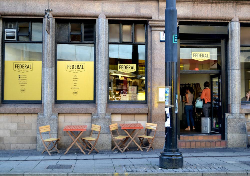 Federal Cafe Manchester exterior