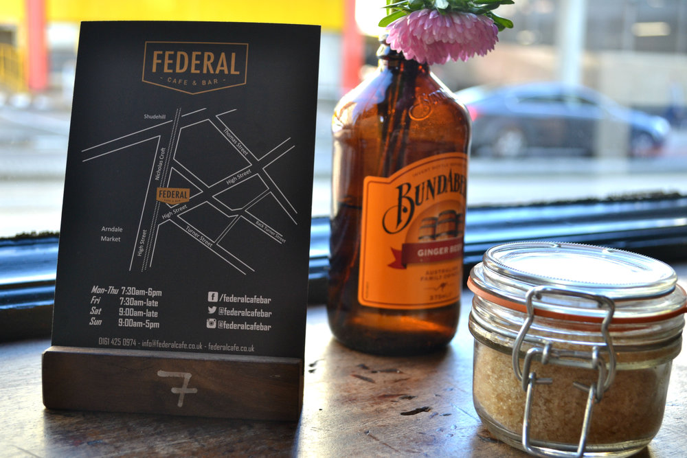 Federal cafe map