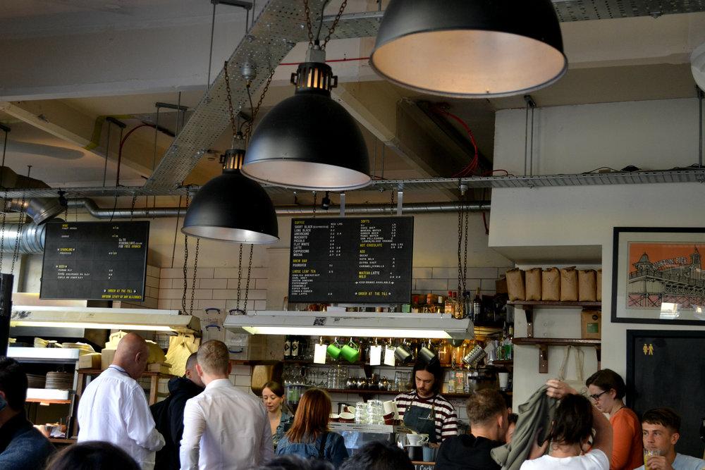 Federal cafe interior