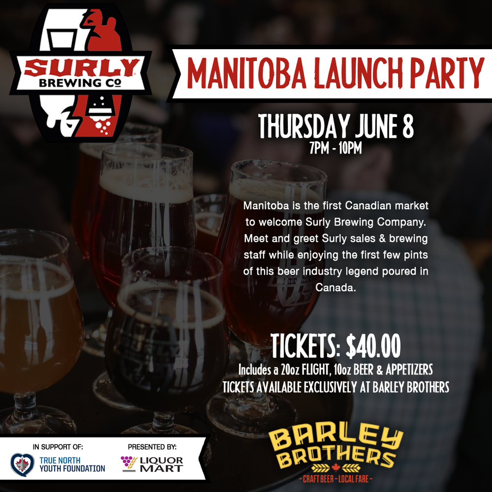 Surly Manitoba Launch Party at Barley Brothers