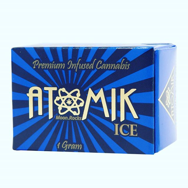 Atomik ICE Moon.Rocks Atomik ICE Starts with Atomik OG flower which is infused with high potency CO2 Oil and covered with Ice Water Hash and Kief  @sclabs tested over 55% THC  @atomik420 @moon.rocks ⚛ 🔥  #atomik #atomik420 #atomikmoonrocks #moonrock  #poweredbyweedmaps #Hightimes #cannabiscup #award #winning #moonrocks #infusedcannabis #sclabs #theclear #popnaturals #weedmaps #legalize #cannabis #420 #marijuana #mmj #nugporn #strongaf #takeyourhightothenextlevel #rewardyourself  #⚛ #coldasice #atomikice #co2 #oil #icewaterhash