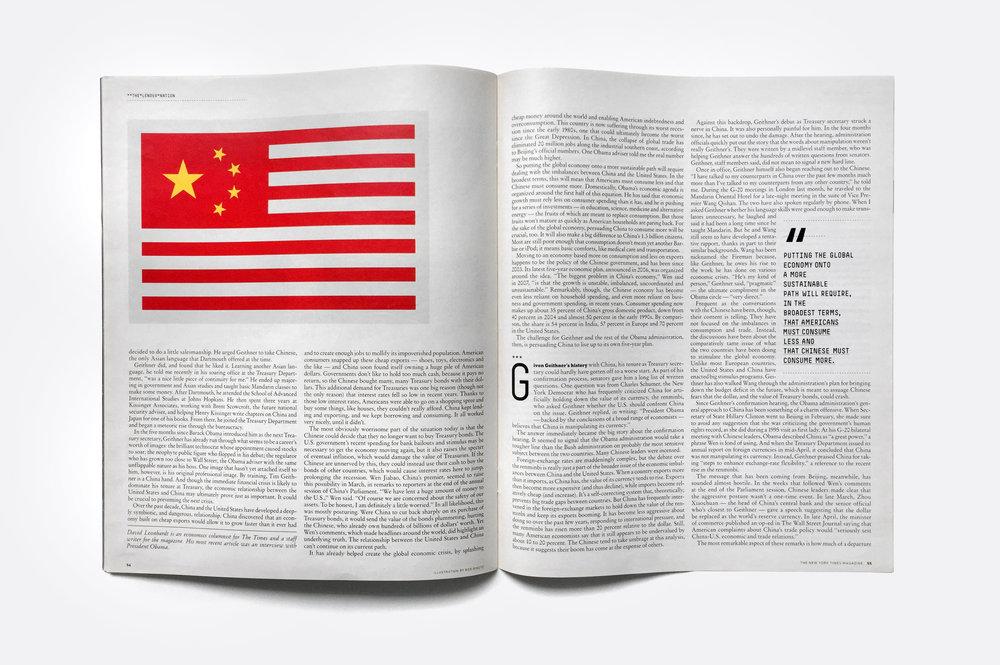New York Times Magazine Bob Dinetz Design