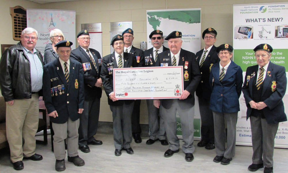 (Left to right) John Fogal (NSHNF Director); Ed Ray (2nd Vice); Sue Barlow (NSHNF Vice Chair); Murray Bonany (1st Vice); Francine Grasley (Charitable Foundation/Membership Chairperson); David Grasley (Sergeant-at-arms); Gérard Marion (Member); Norm Nash (President); Anita Mitchell (Executive Committee); Jean Rosenberg (Executive Committee); Thelma Nash (Honors & Awards).