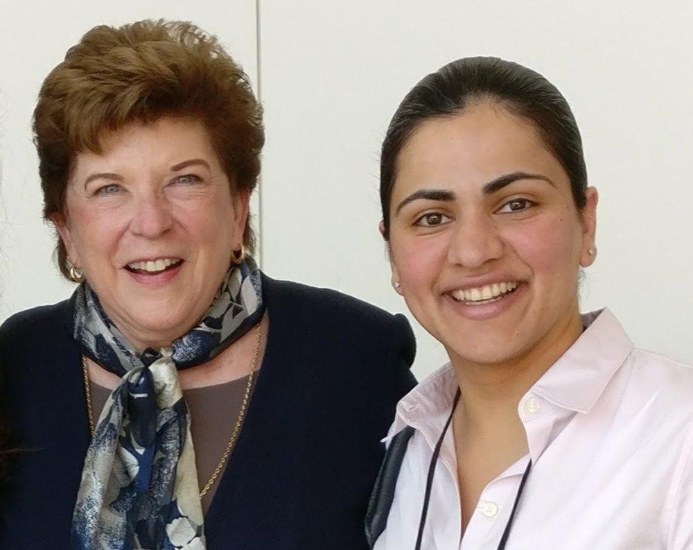 State Superintendent Delaine Eastin and Aisha