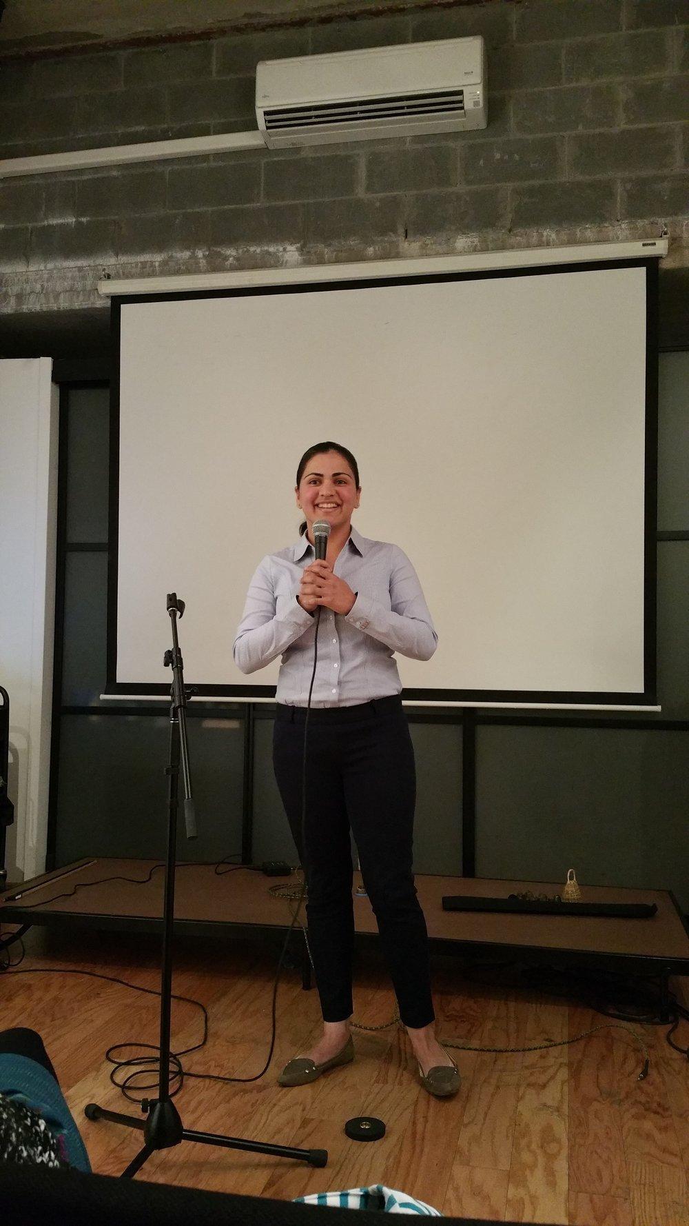 Aisha Wahab Speaking in NYC, NY