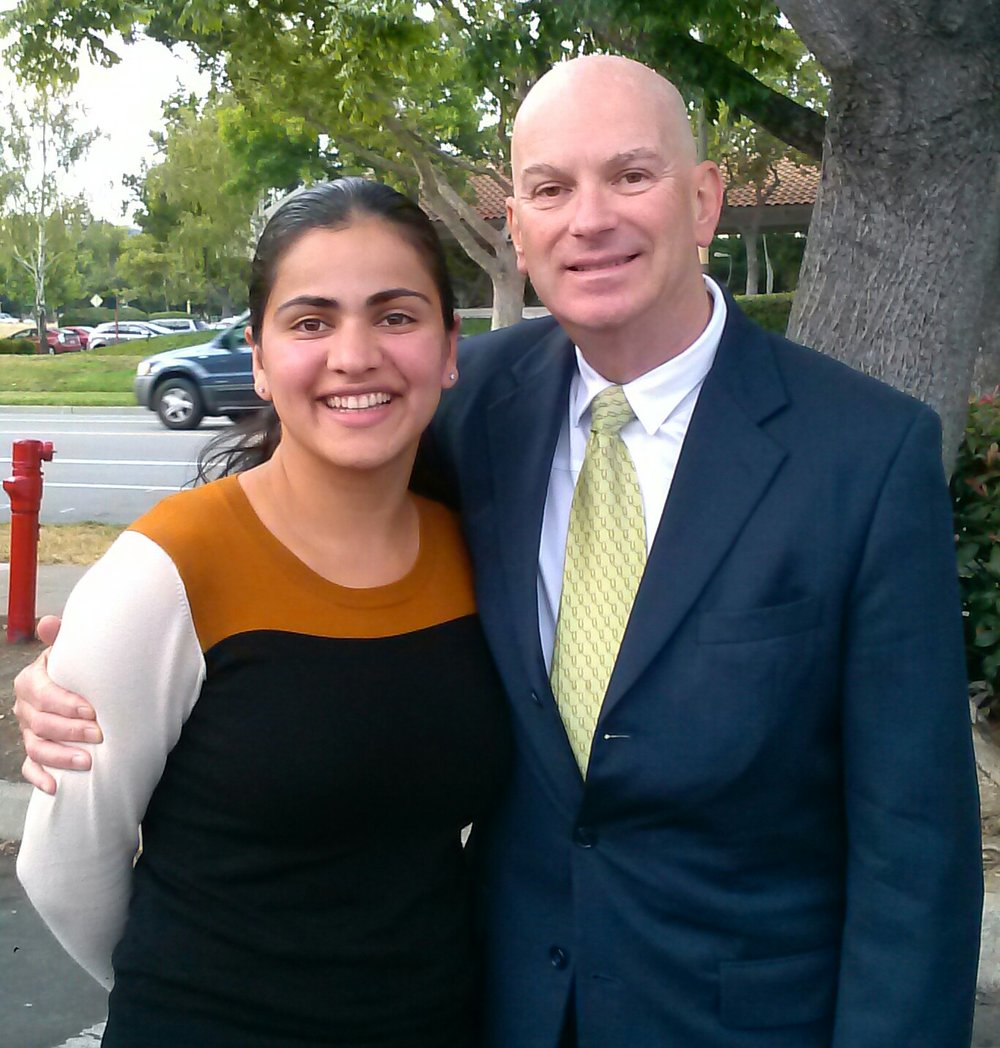 US Ambassador Fred Bush & Aisha