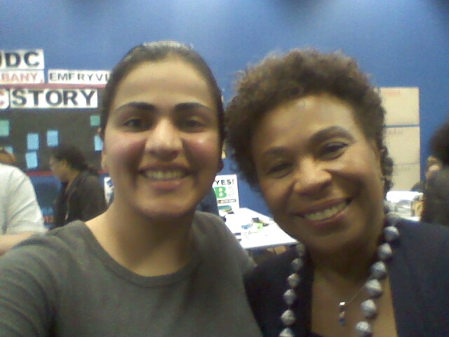 Congresswoman Barbara Lee & Aisha