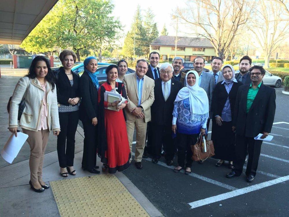 Congressman Mike Honda & Diverse Community Leaders
