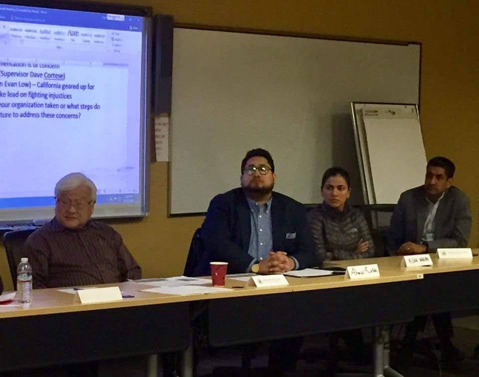 Congressman Mike Honda, Ro Khanna and Aisha