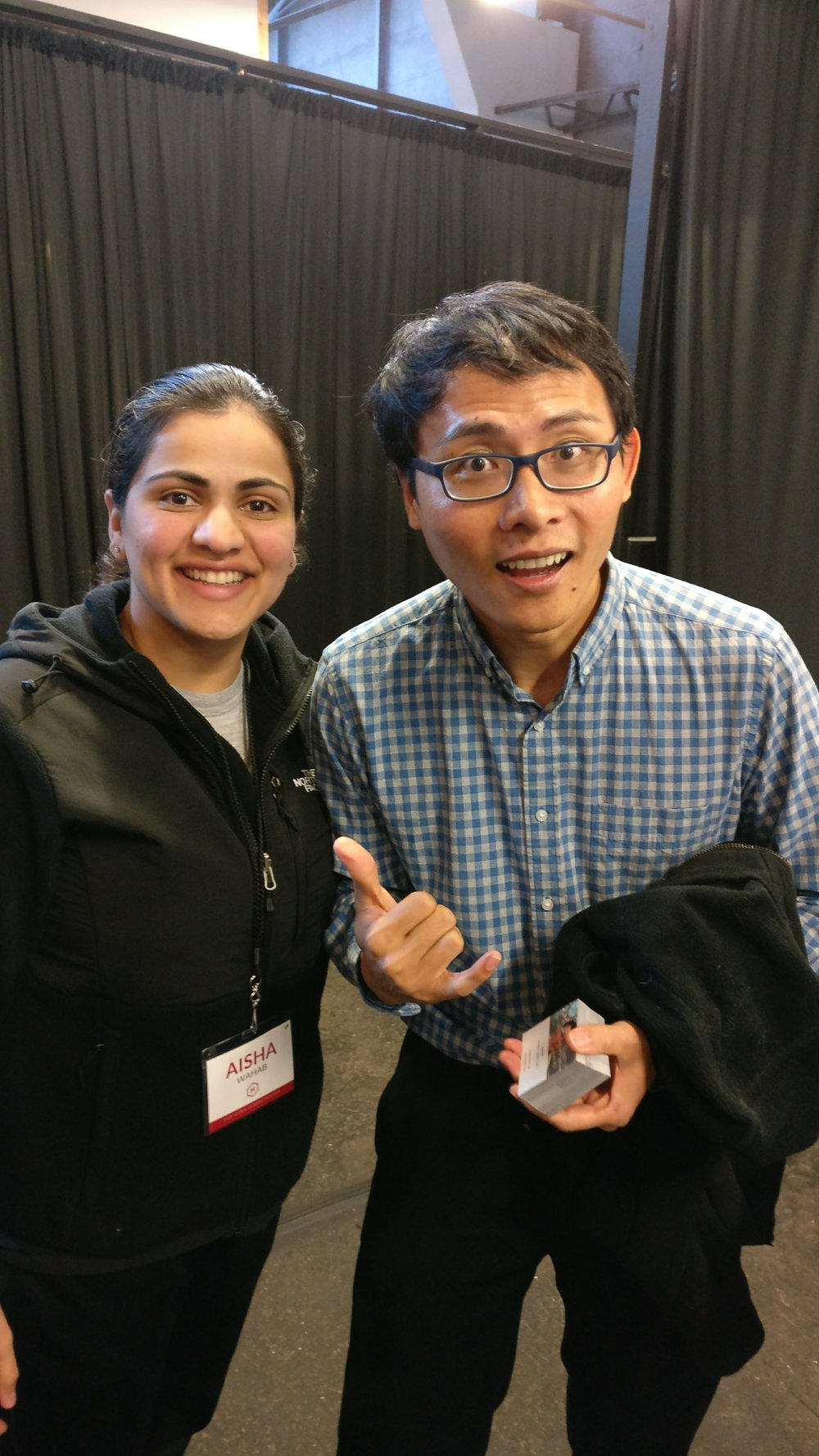 Google X Founder Tom Chi and Aisha