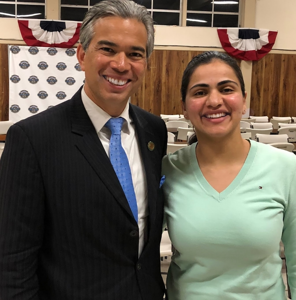 Assemblymember Rob Bonta and I