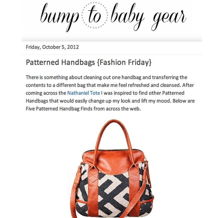 BUMP TO BABY GEAR