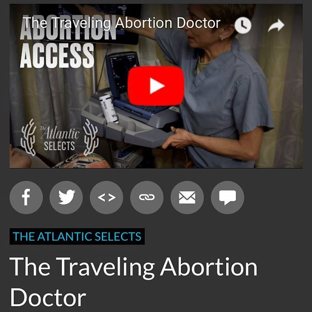 Thank you @theatlantic for featuring #TheProvider! If you haven't had a chance to see the film yet, the link is in our bio. Check it out and share! We appreciate the support! #access #reporights #provider #documentary