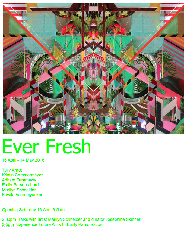 """Accumulation at 12th & Marion"" included in Ever Fresh exhibition in Sydney, Australia"