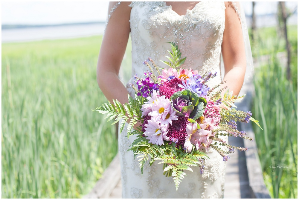 Wildflower Bouquet, Pink, Purple and Green Bouquet.