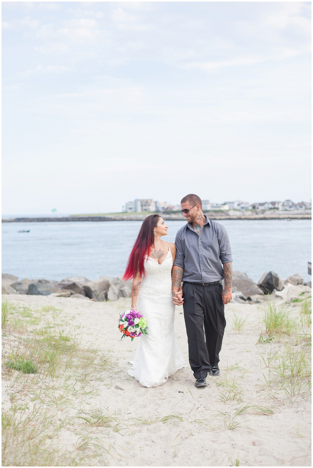 Hampton Beach , Hampton NH Bridal Session