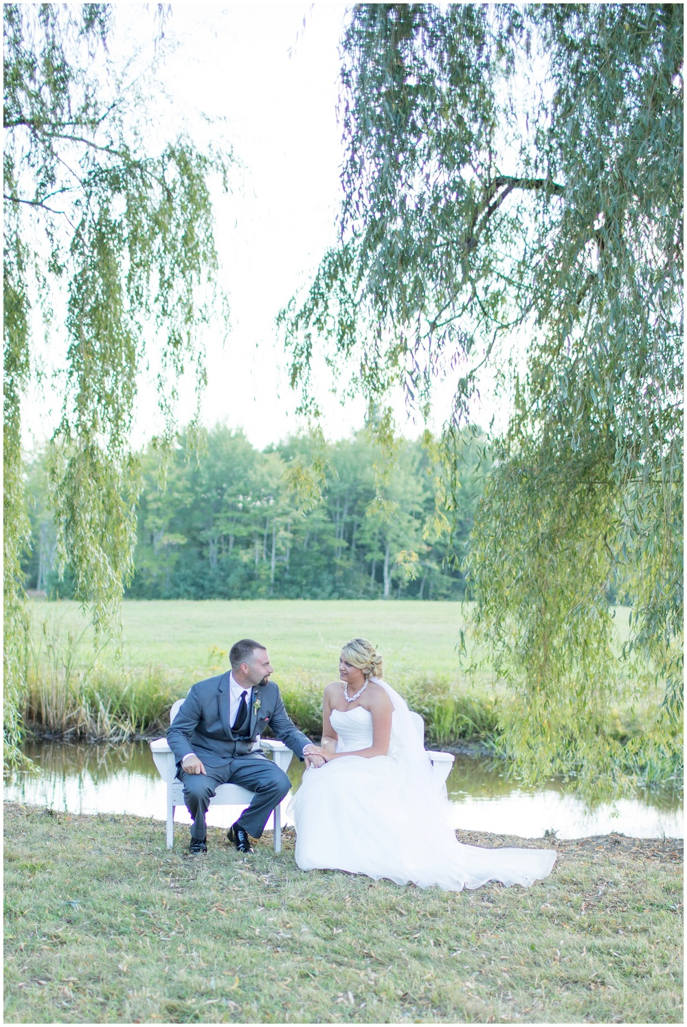 Seacoast NH Wedding Photographer | weeping willow wedding formal photos | Amy Brown Photography