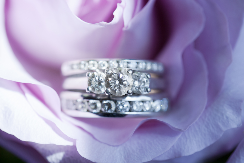 NH wedding photographer | bridal ring set | bridal details | kay jewelers