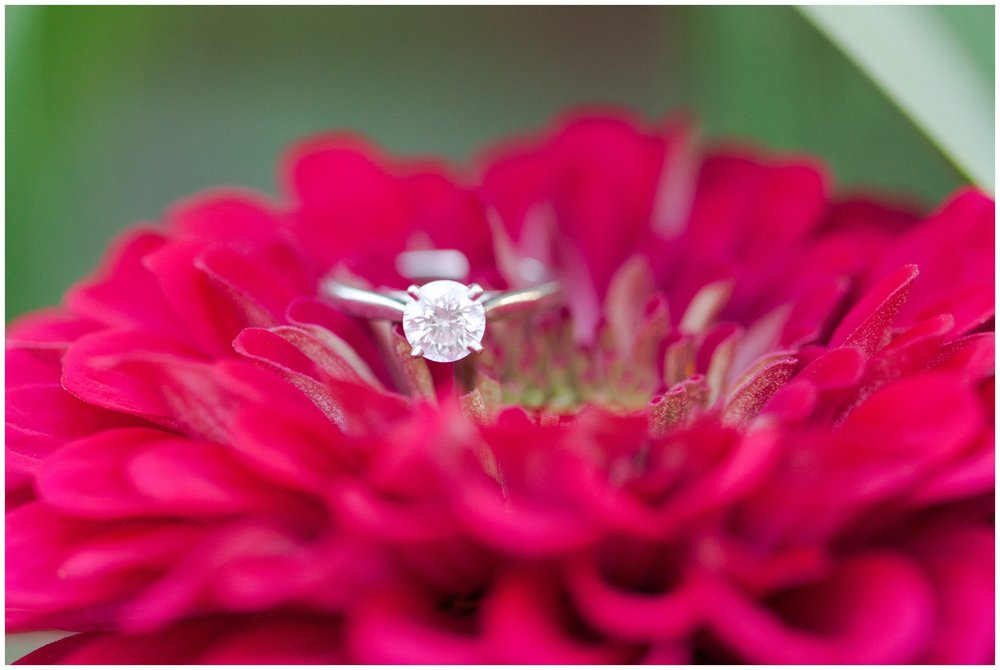 Solitare Engagement Ring | Wagon Hill engagement Session
