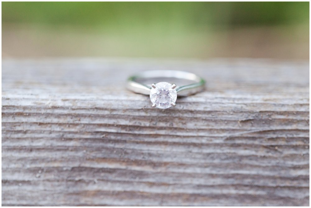 New Hampshire Wedding Photographer | Wagon Hill Durham NH | Engagement Session | Engagement ring