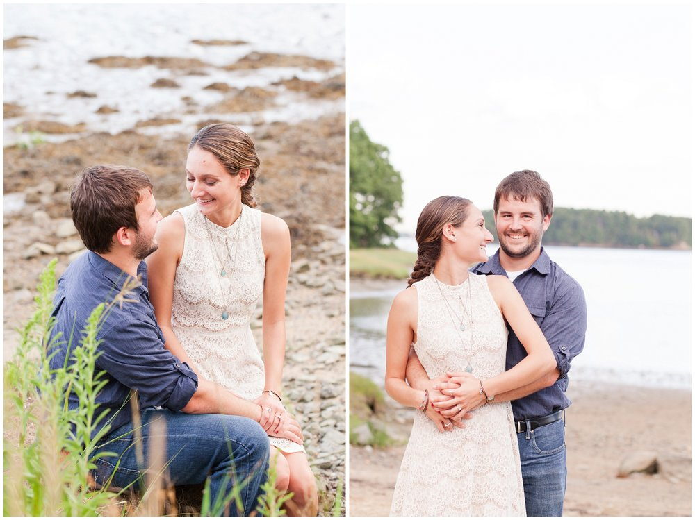 Durham New Hampshire Wedding Photographer | Wagon Hill Durham NH | Engagement Session