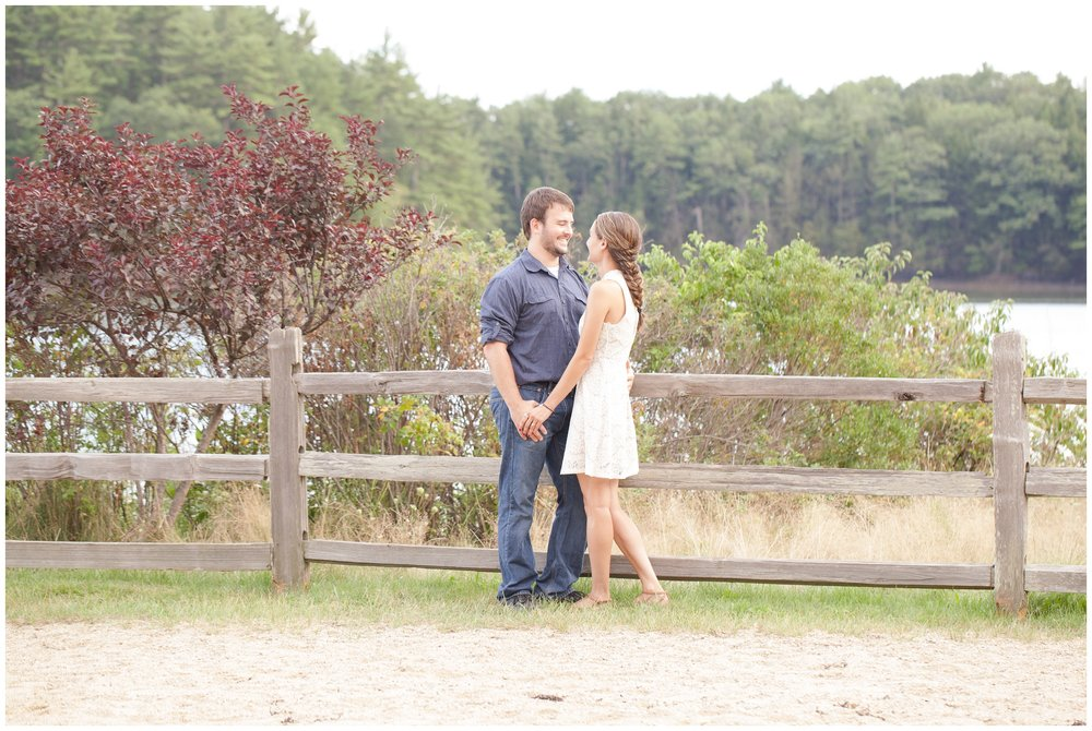 exeter new hampshire wedding photography | Wagon Hill Durham NH | Engagement Session