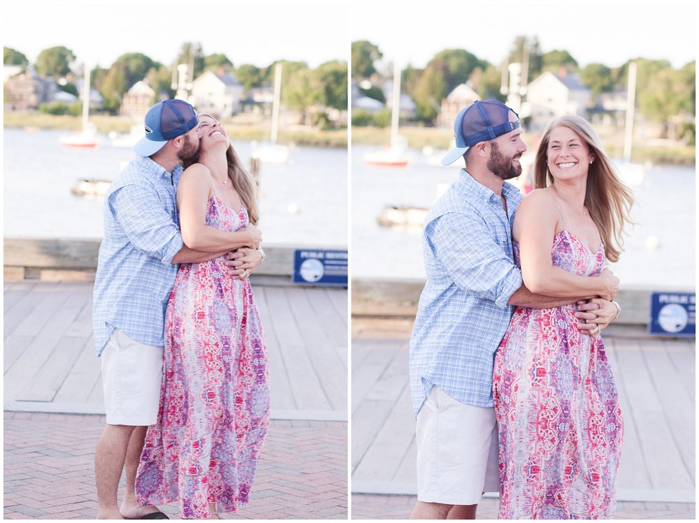 nh wedding photographer | newburyport engagement session | flag hill wedding | amy brown photography